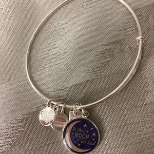 To the moon and back Alex and Ani bracelet